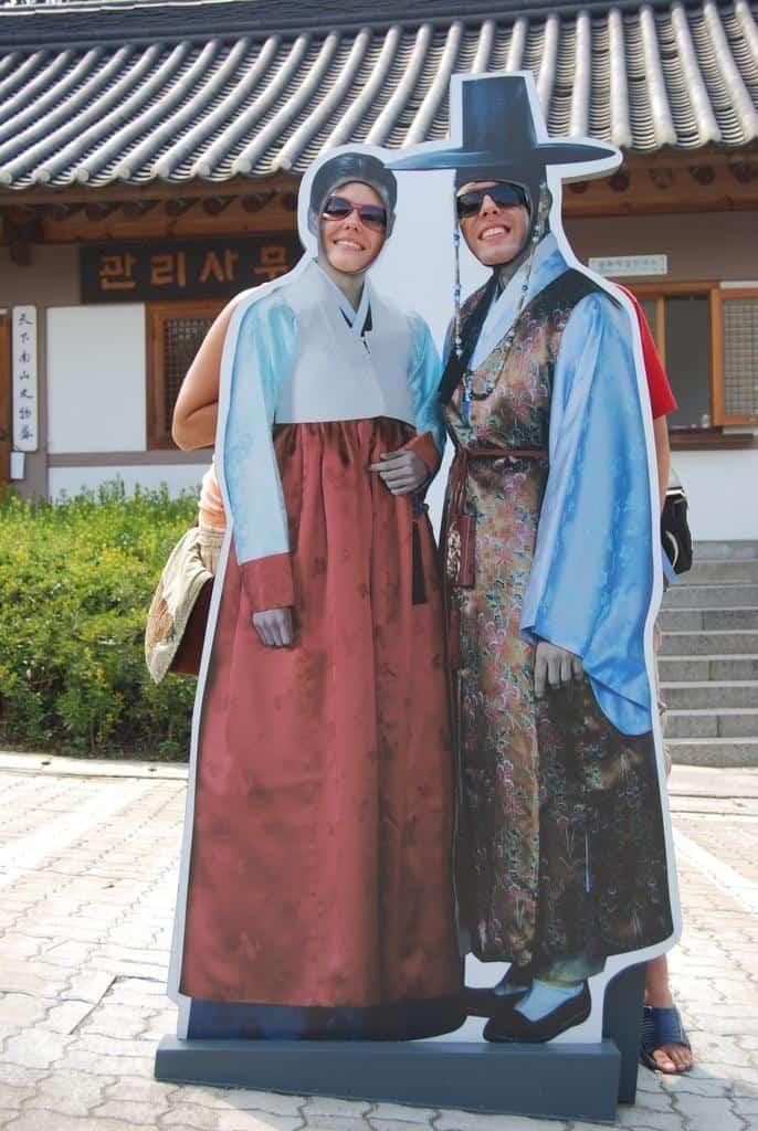 Tourists In Seoul South Korea