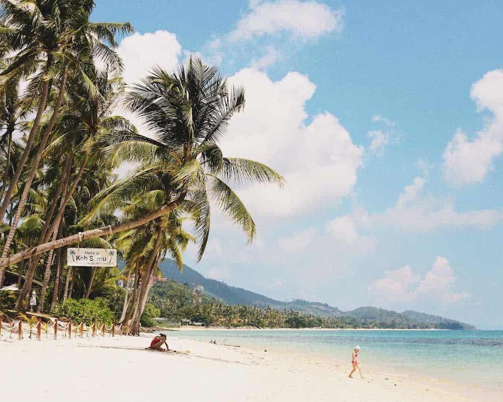 Beach Koh Samui Thailand
