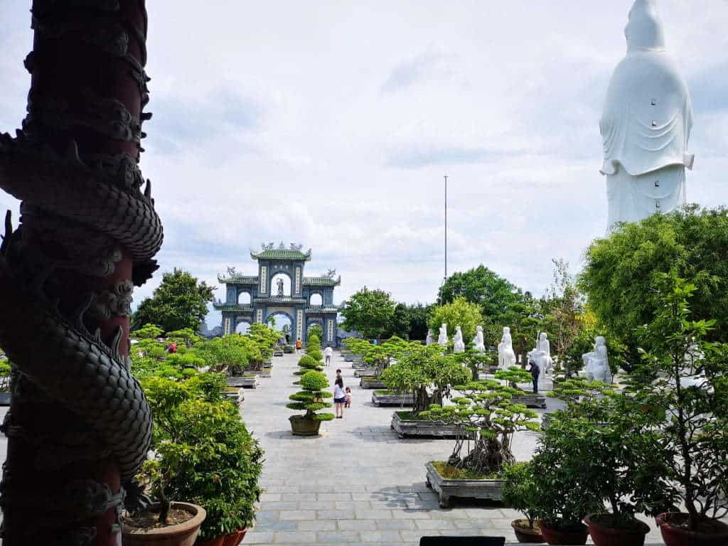 Set on a mountain top, make sure you visit the large buddha, and beautiful temple.