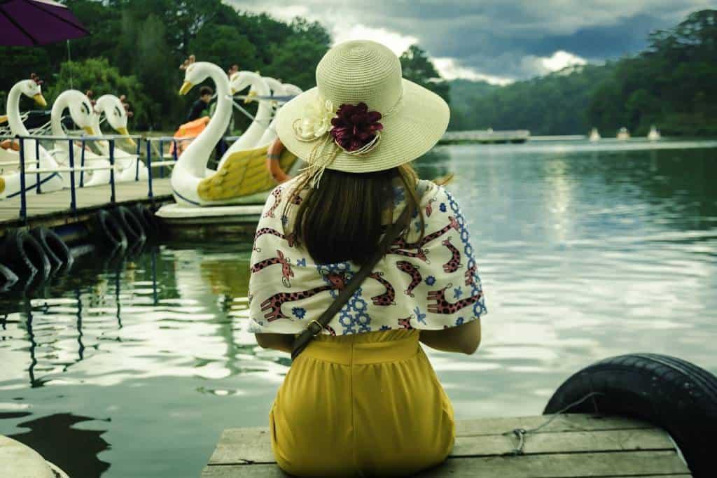 Lake in Dalat Vietnam