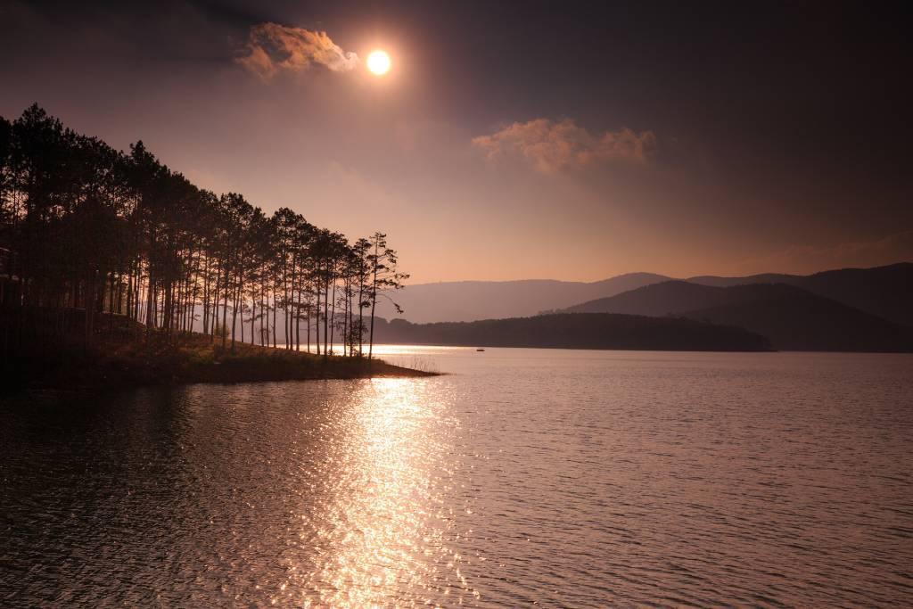 Dalat Lake Vietnam