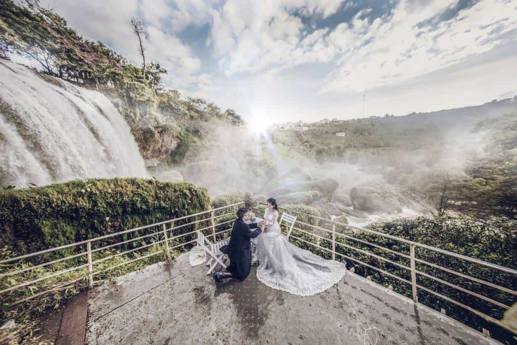 Elephant Waterfalls Dalat Vietnam