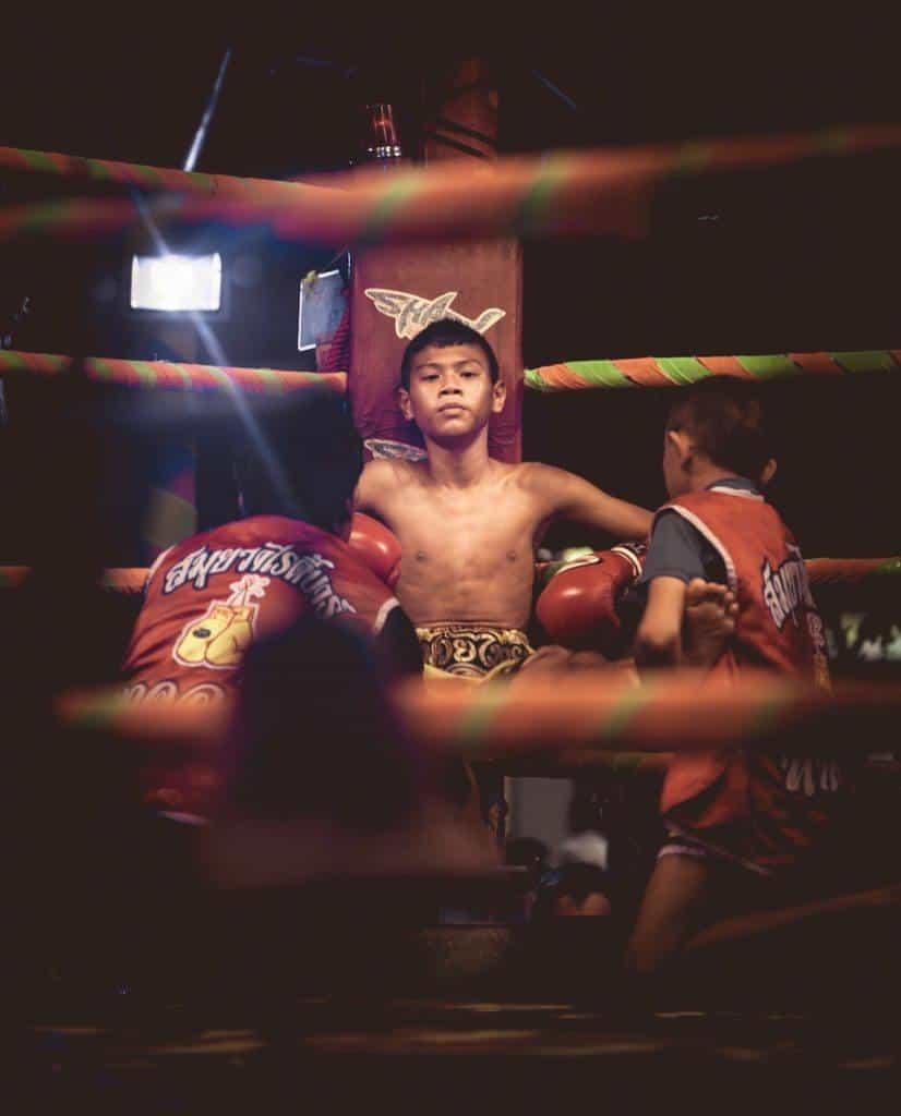 Muay Thai Boxing Koh Samui Thailand