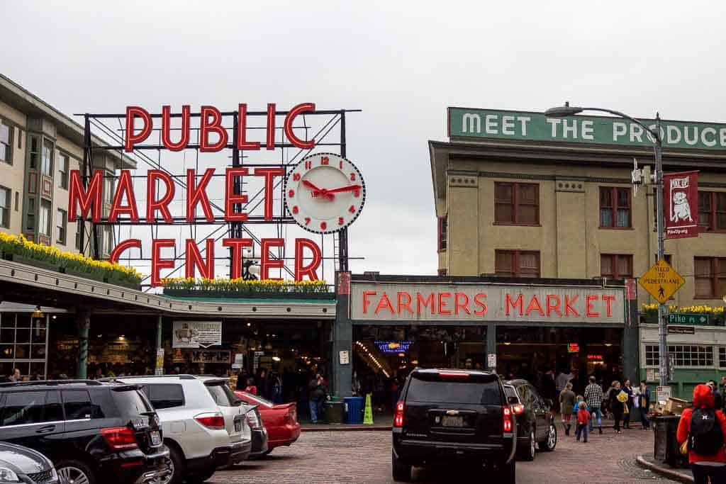 Iconic Pikes Place Market