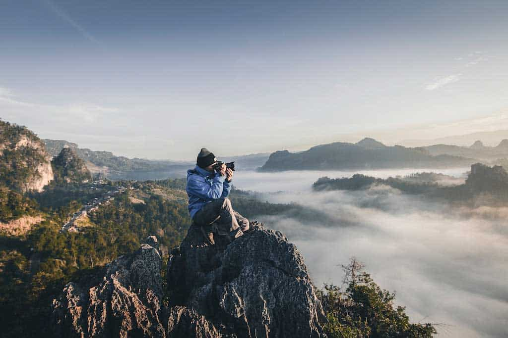 Hiking in Thailand can be absolutely breathtaking; make sure you bring a camera!