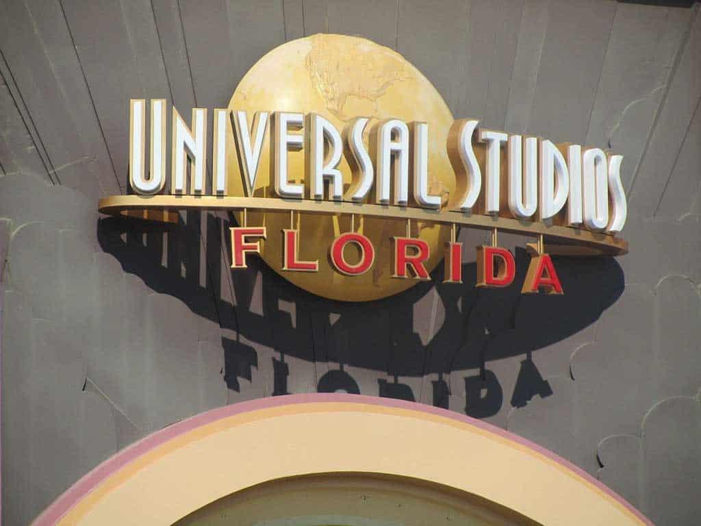 Universal Studios Orlando Sign