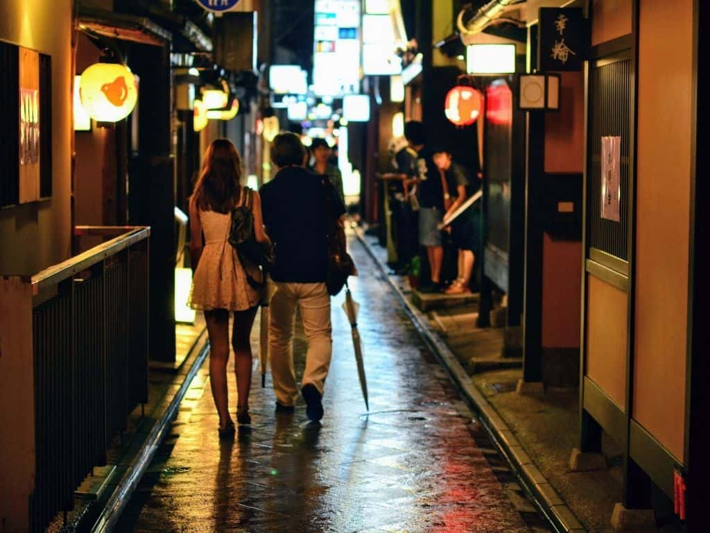 Potoncho Alley Things To Do In Kyoto At Night