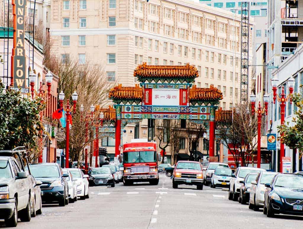 Chinatown Portland