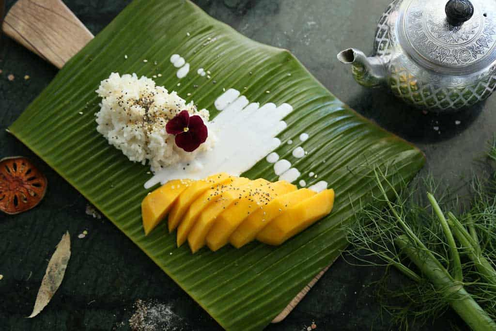 Mango And Sticky Rice Is A Must-Try In Thailand.