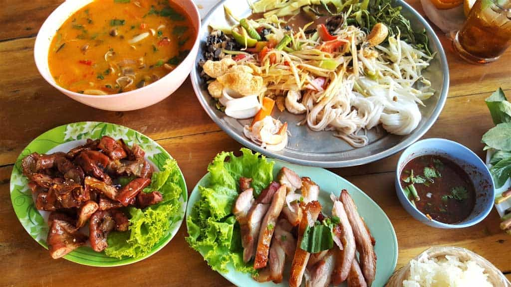 Food In Thailand Dishes