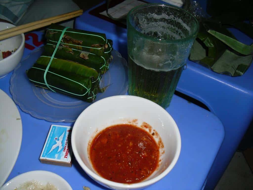 Drinking Bia Hoi In Hanoi