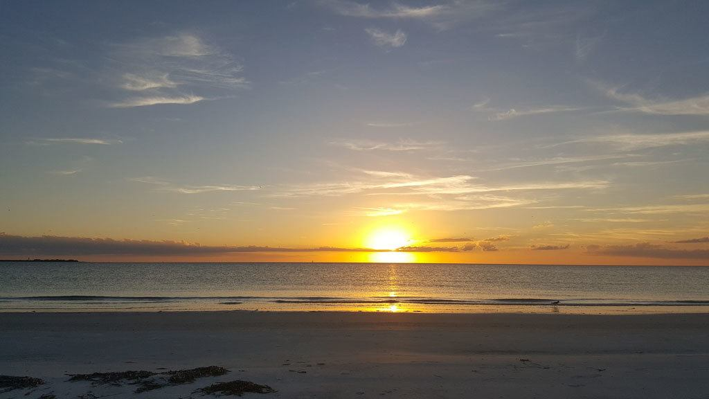 Clearwater Beach Tampa Sunset