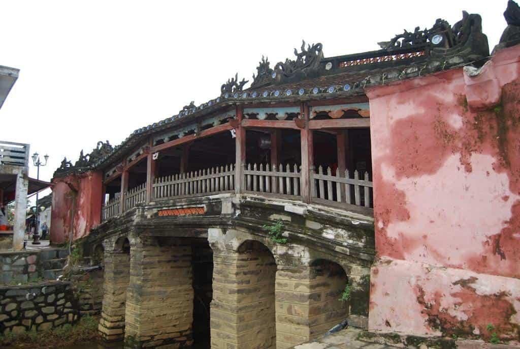 Japanese Bridge In Hoi An Vietnam