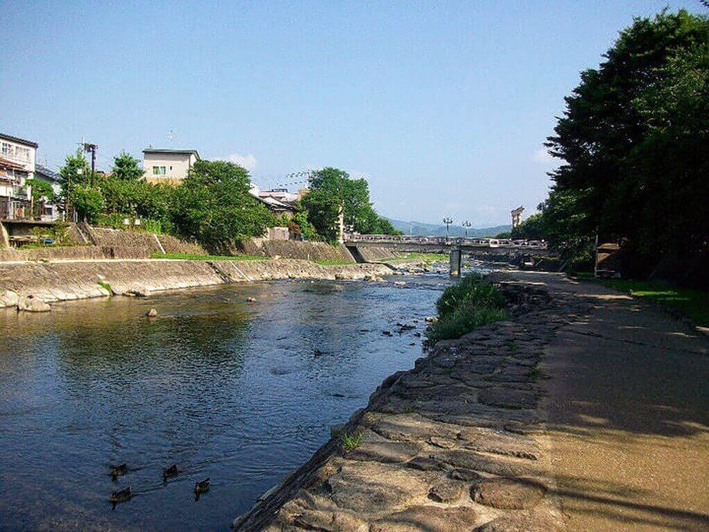 The Miyagawa River Takayama