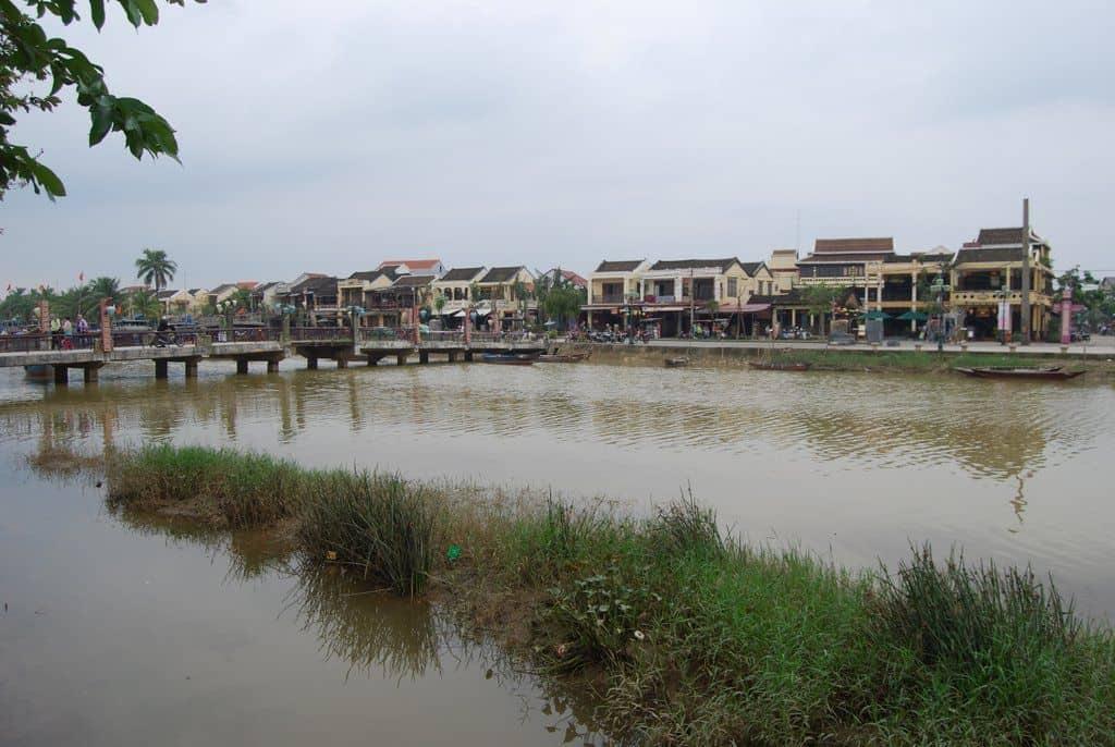 Riverfront In Hoi An Vietnam