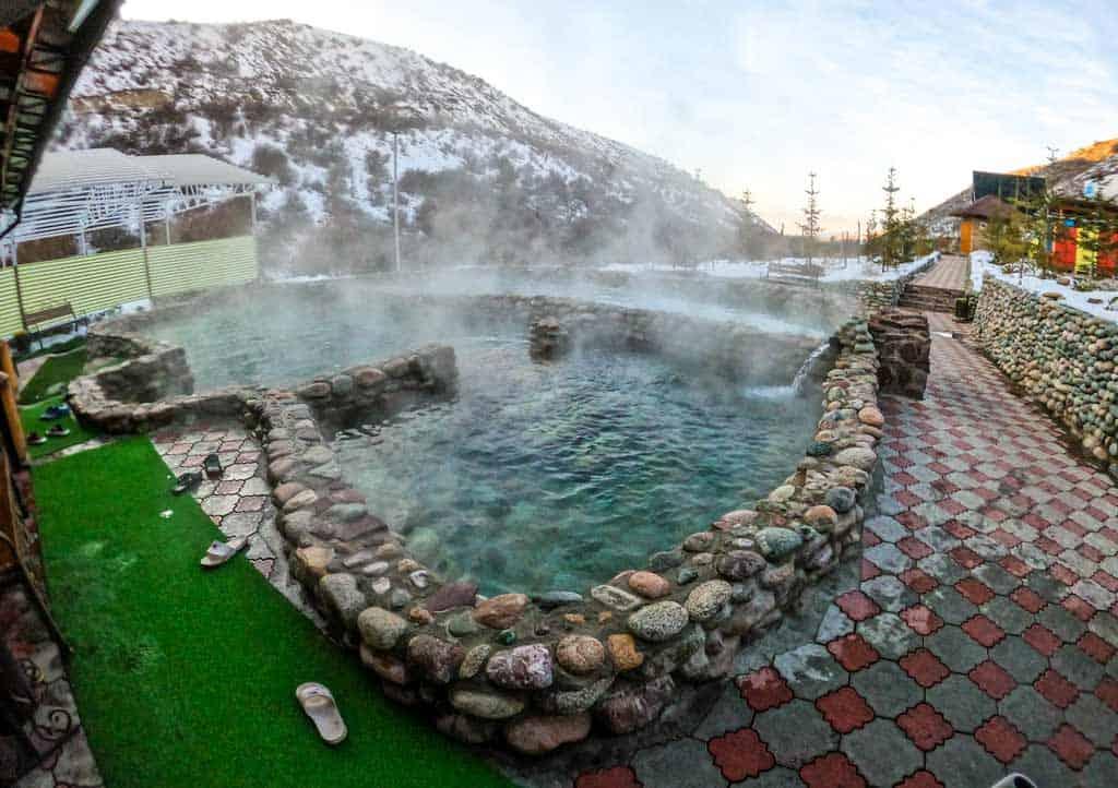 Ak Suu Kench Hot Springs