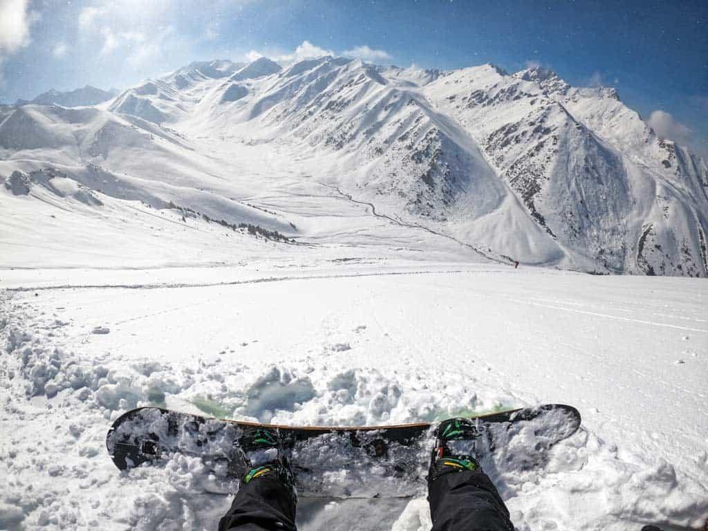 Boz Uchuk Valley Winter