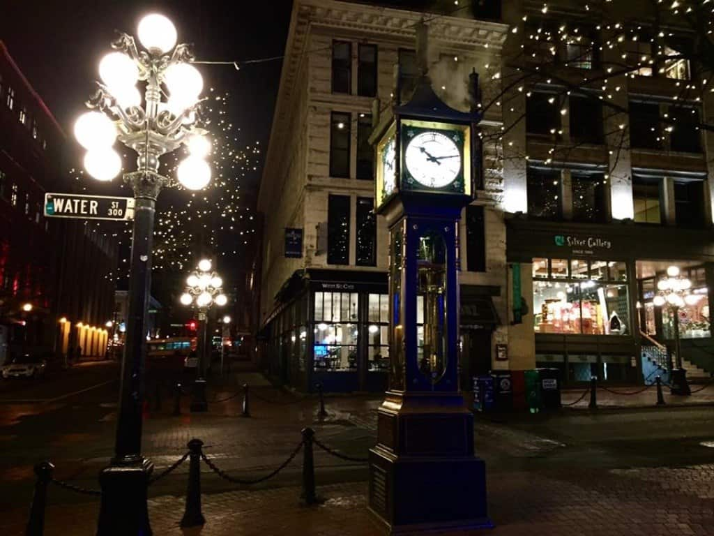 Gastown Vancouver Itinerary