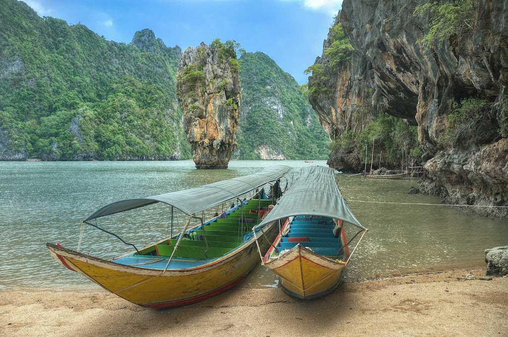 Thailand Safety Tips Longtail Boats