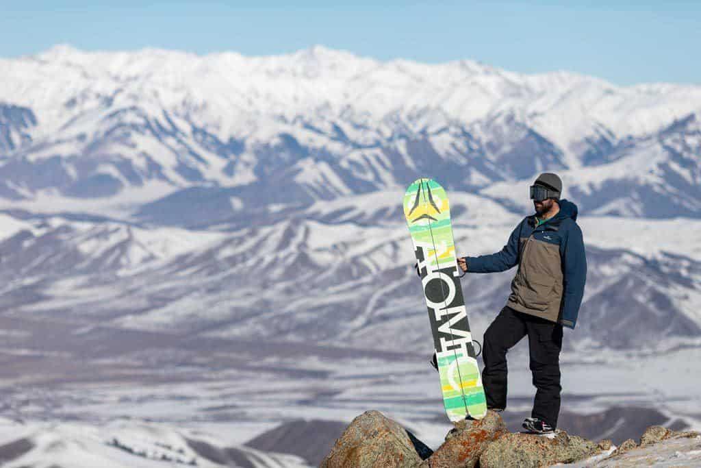 Jarryd Snowboarding Kyrgyzstan