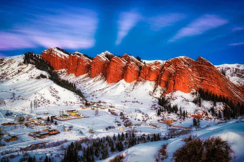Jeti Oguz Winter