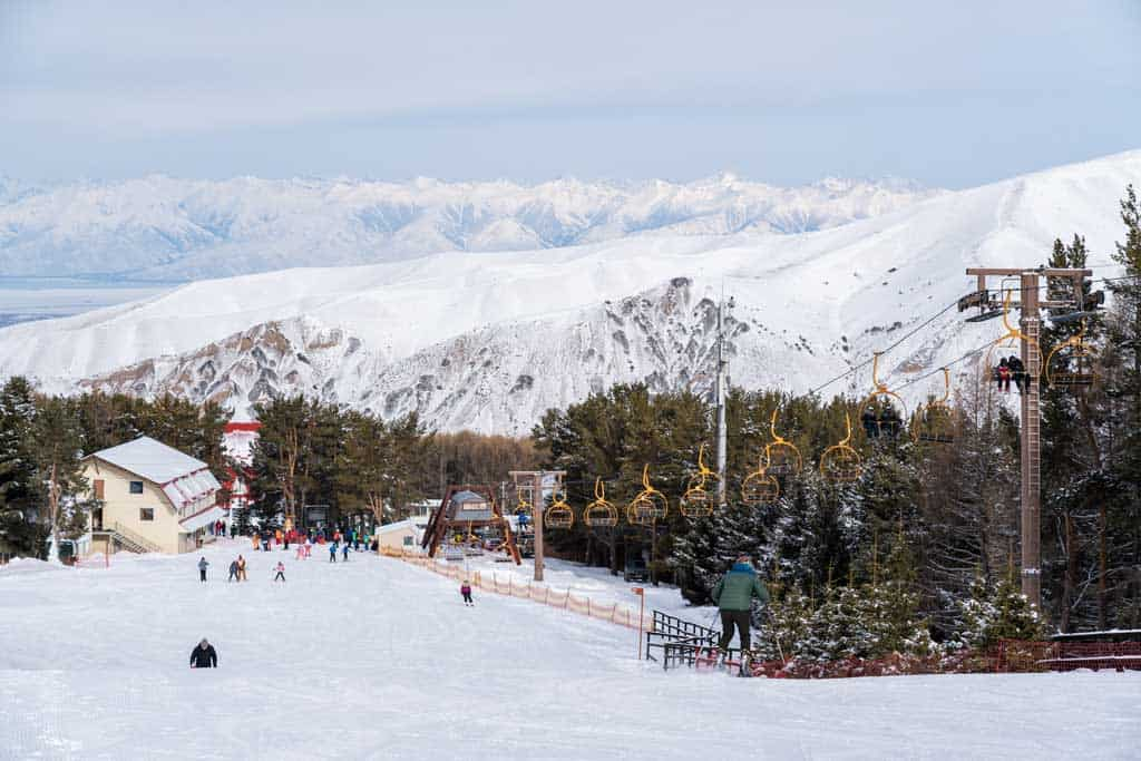 Karakol Ski Resort Base