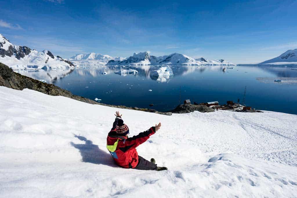 Sliding In Antarctica