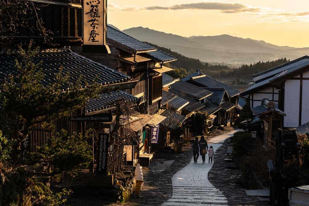 Streets Of Magome Juku