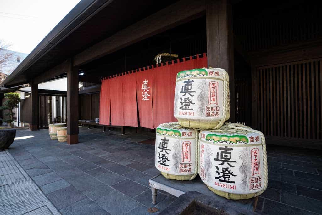 Masumi Sake Brewery Chino