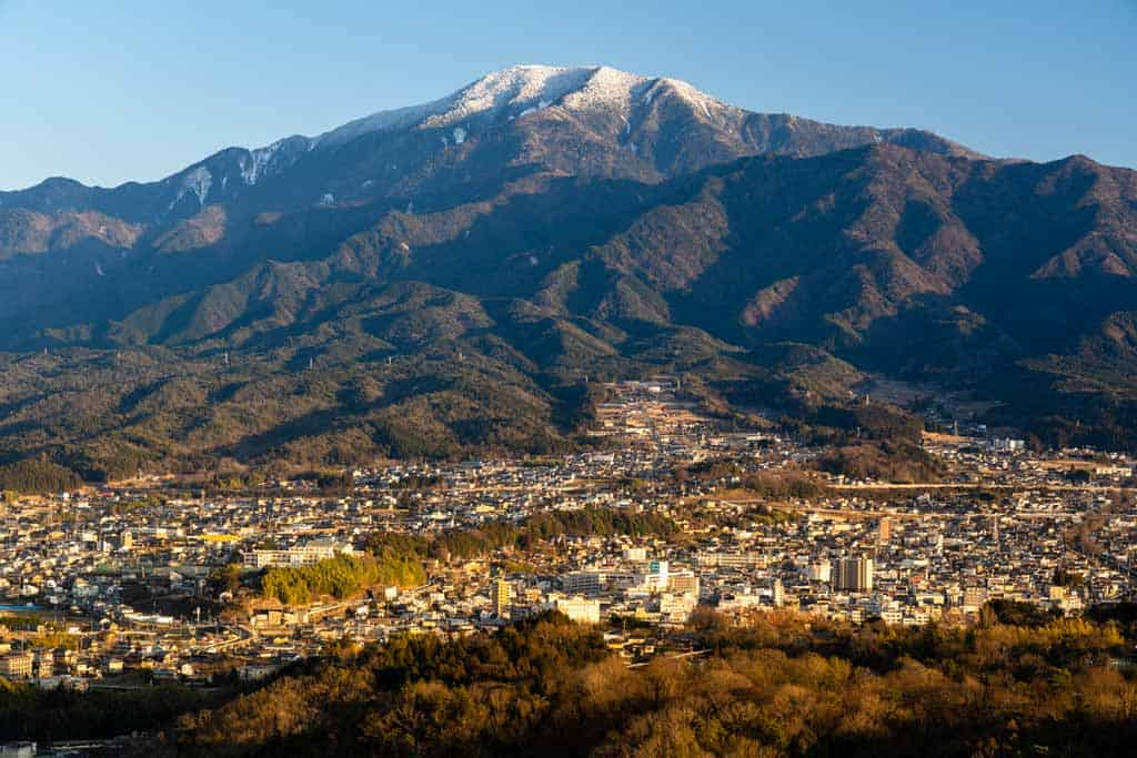 Mount Ena Nakatsugawa