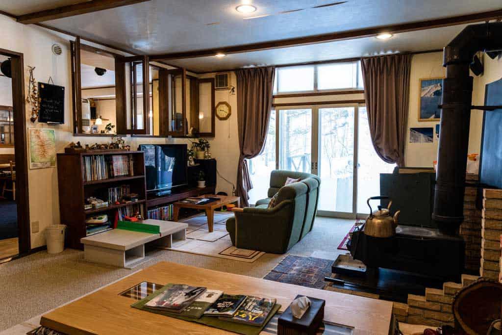 Pension Poem Living Room.