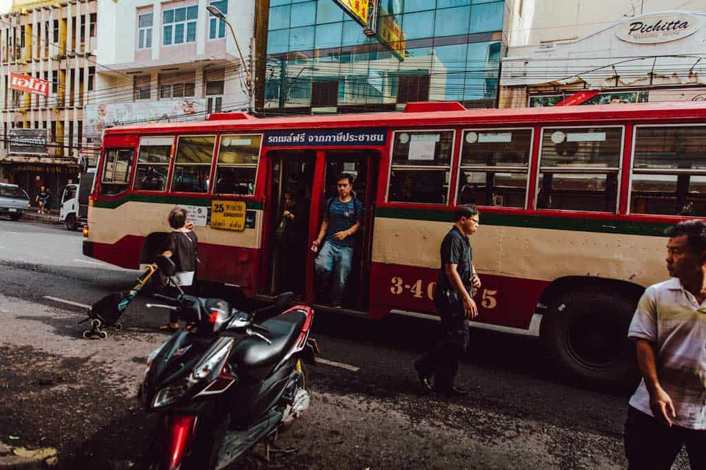 Staying Safe in Thailand Bus
