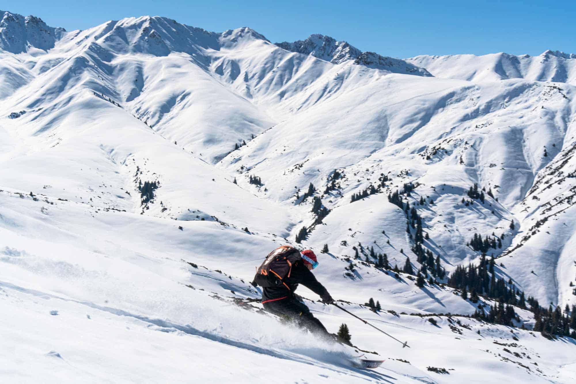 Skiing In Kyrgyzstan