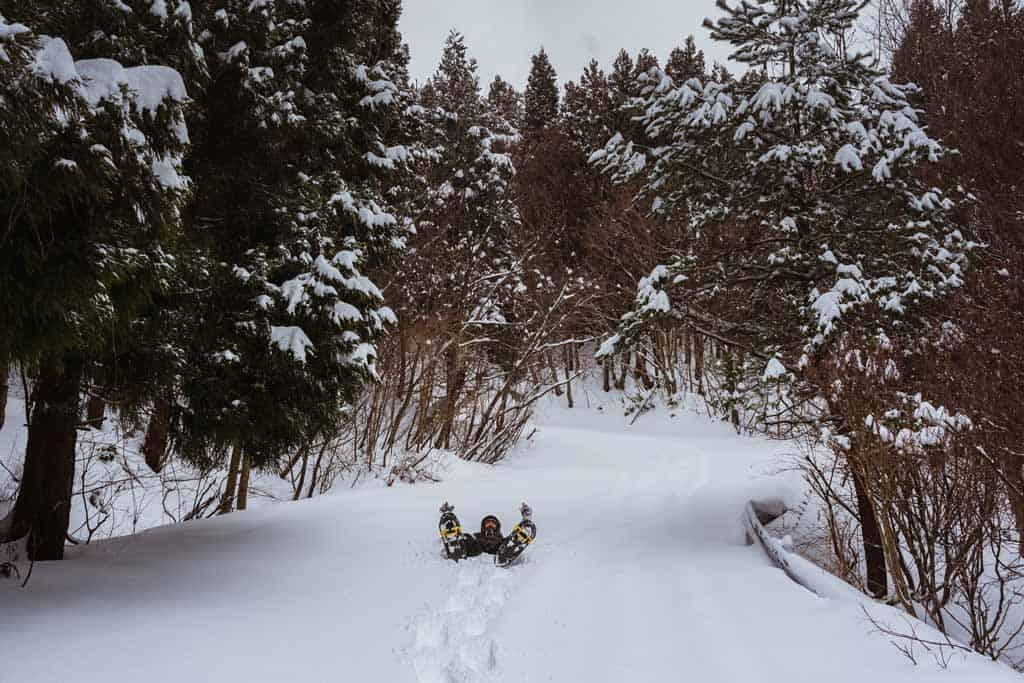 Snowshoeing Things To Do In Sado Island