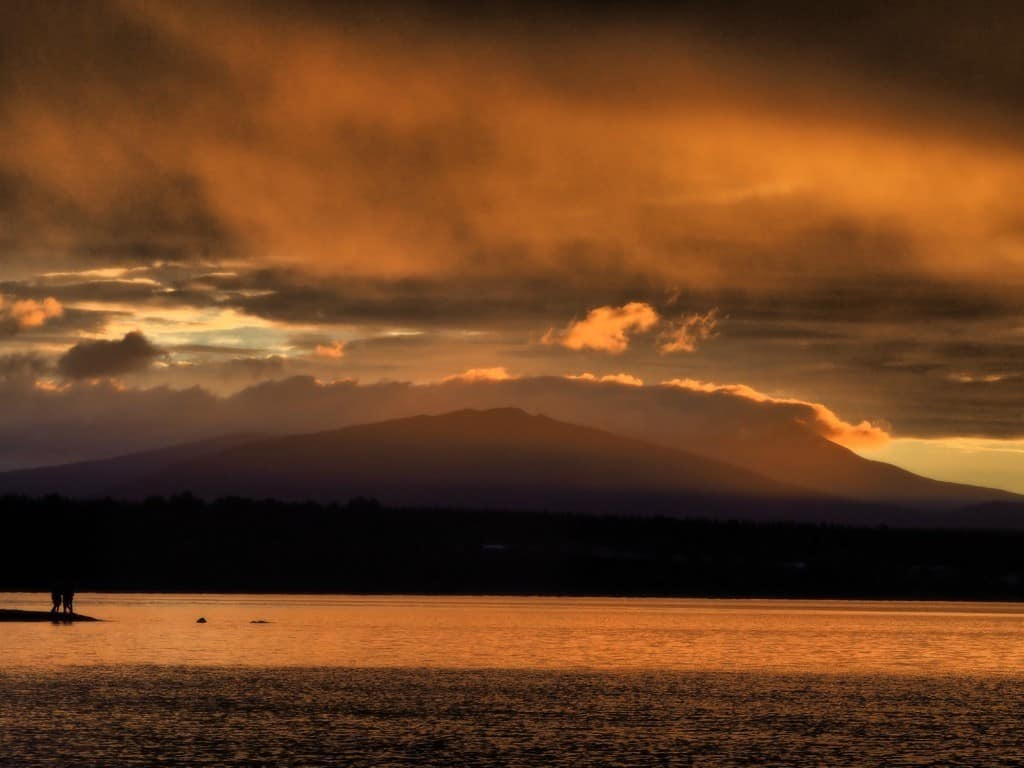 Sunset-Taupo