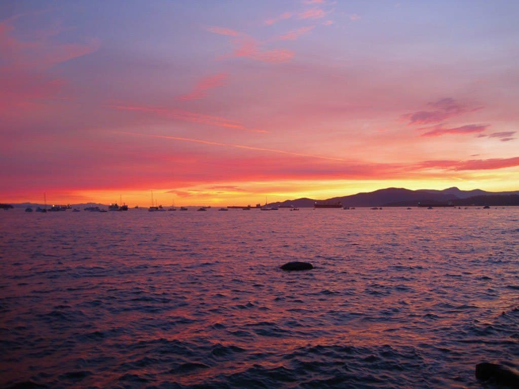 Sunset Beach Vancouver Itinerary