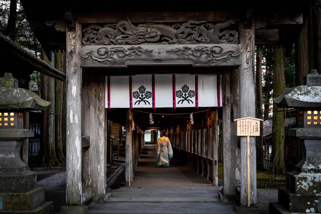 Suwa Taisha Shrine Complex