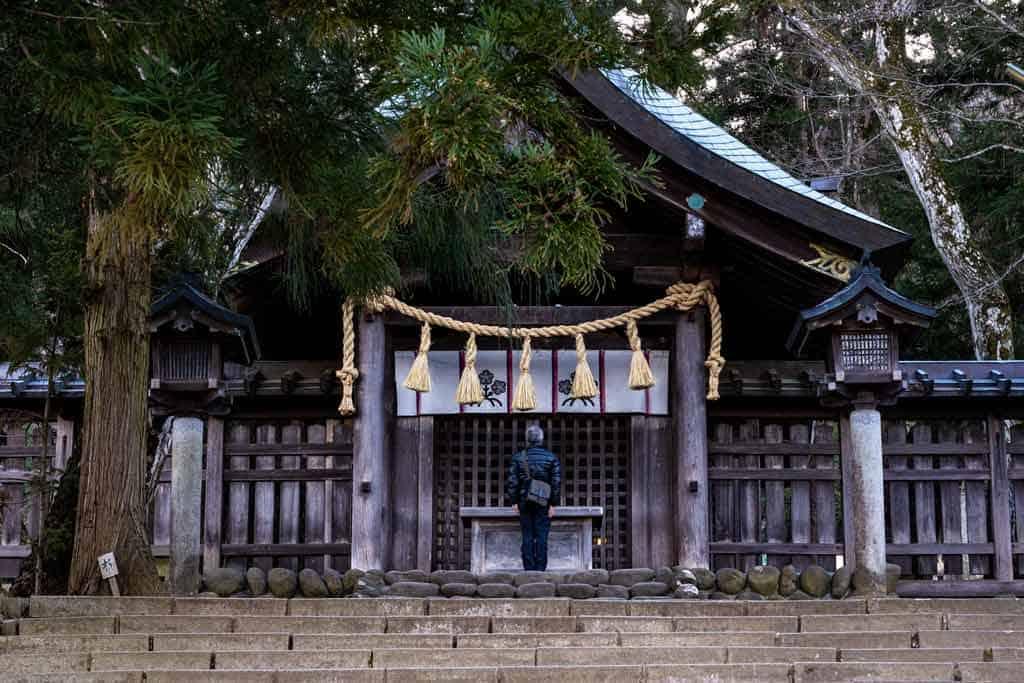 Chino Nagano Japan Temple Shrine