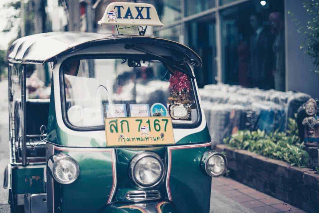 Transportation In Thailand Tuk Tuk