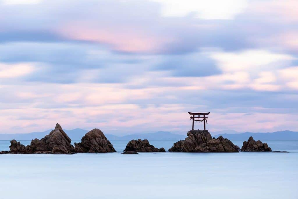 Torii Shrine Nada Beach