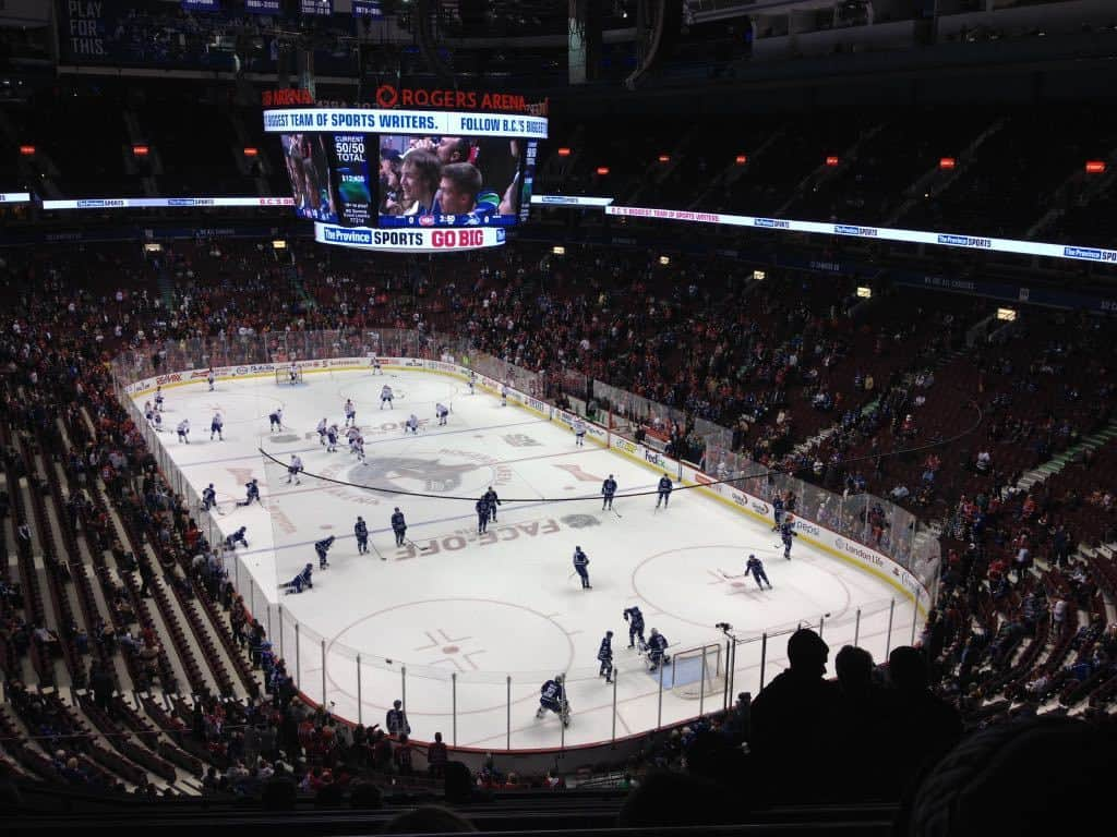 Vancouver Canucks Hockey Game