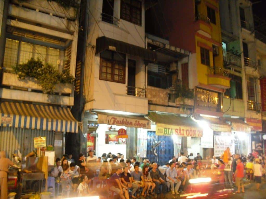 Backpacker Street In Hcmc