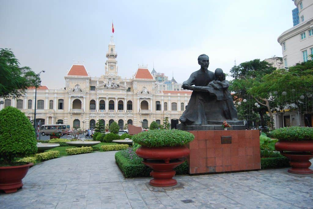 City Hall In Hcmc