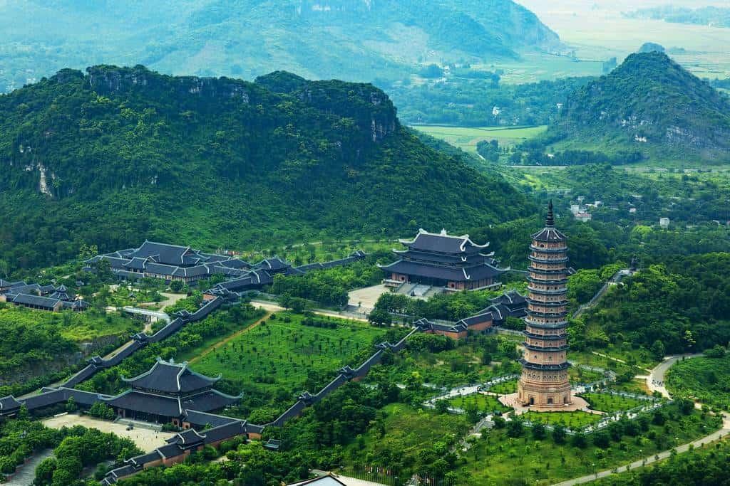 New Bai Dinh Pagoda