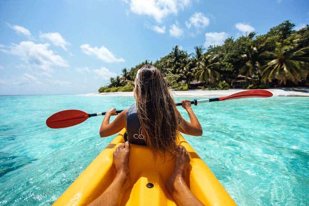Kayaking Ocean