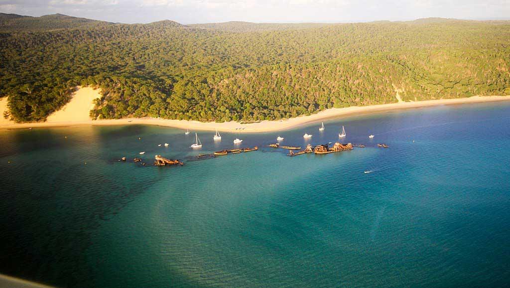Moreton Island Tangalooma Shipwrecks