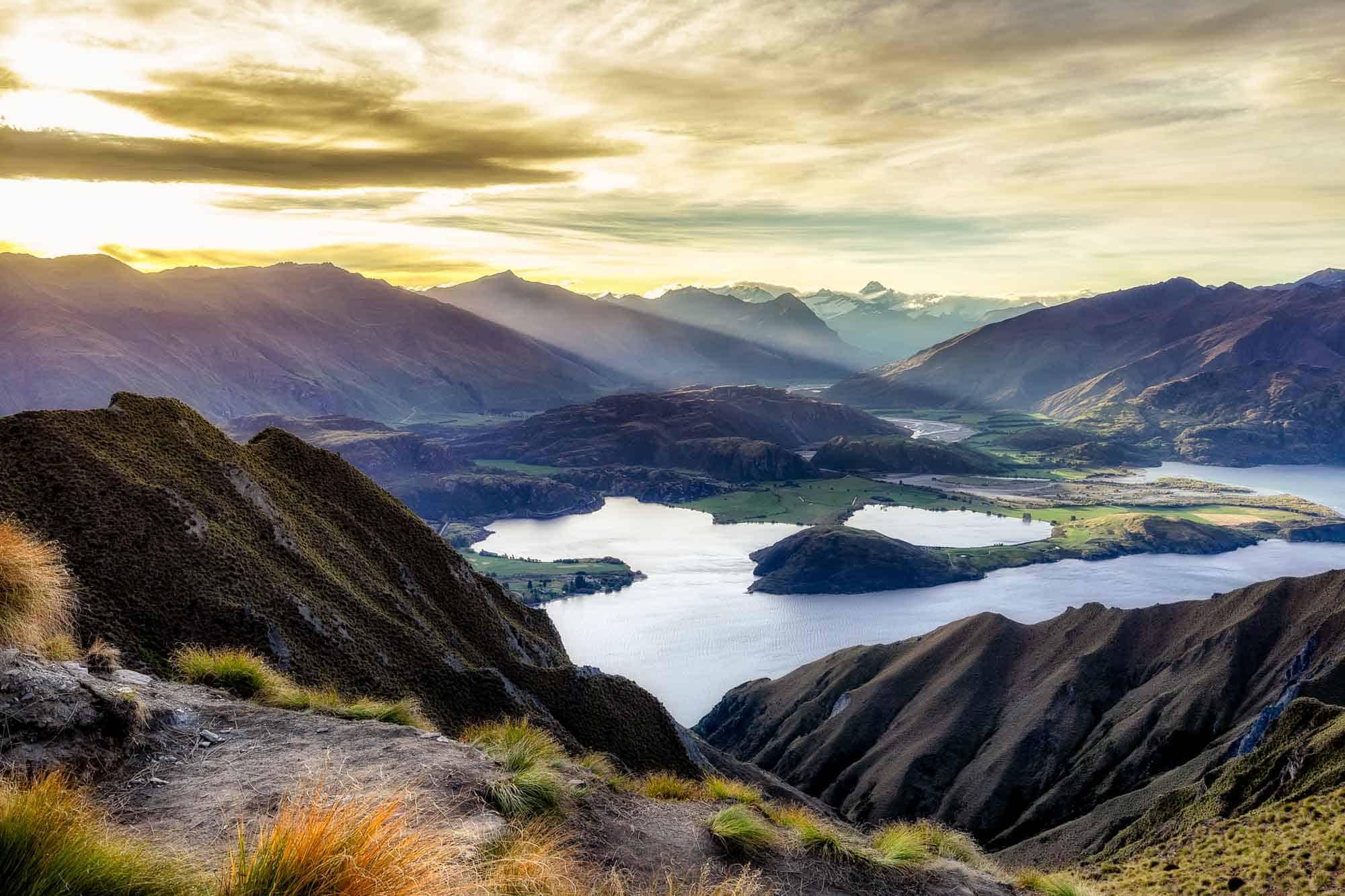 Roys Peak New Zealand Itinerary