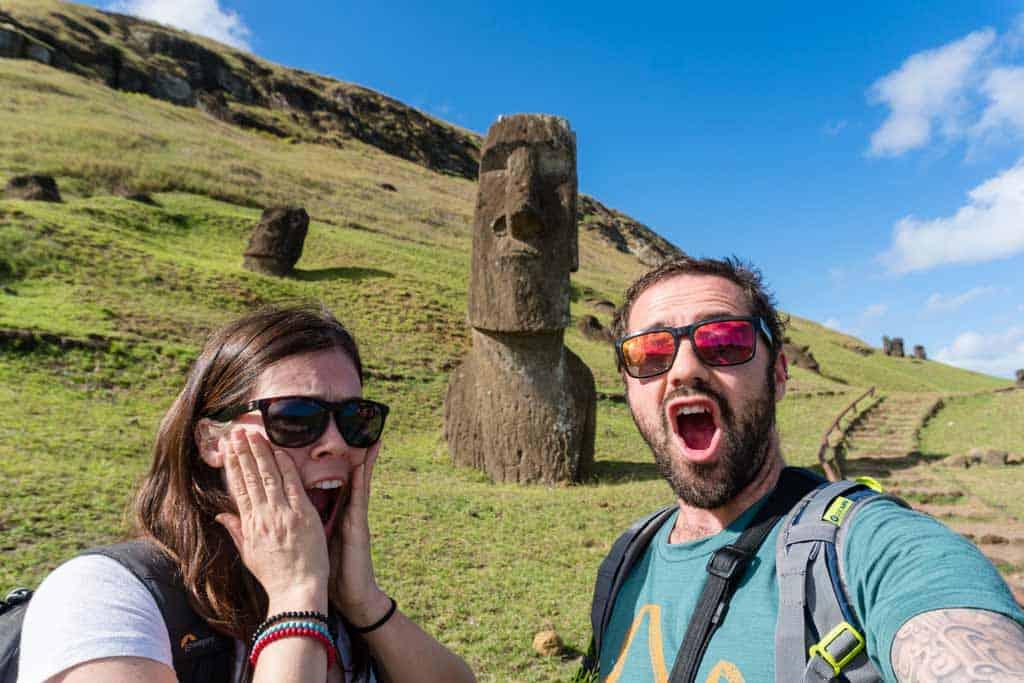 NOMADasaurus Easter Island