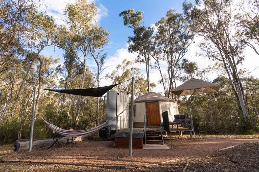 Yurt Camp Murray River