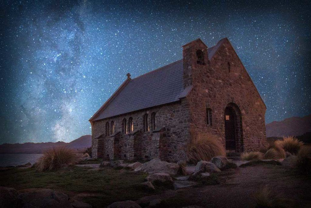 Lake Tekapo star gazing
